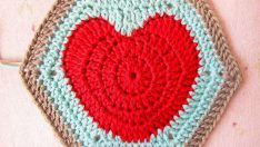 Happy Valentines…and a Hearty Hexagon Pattern