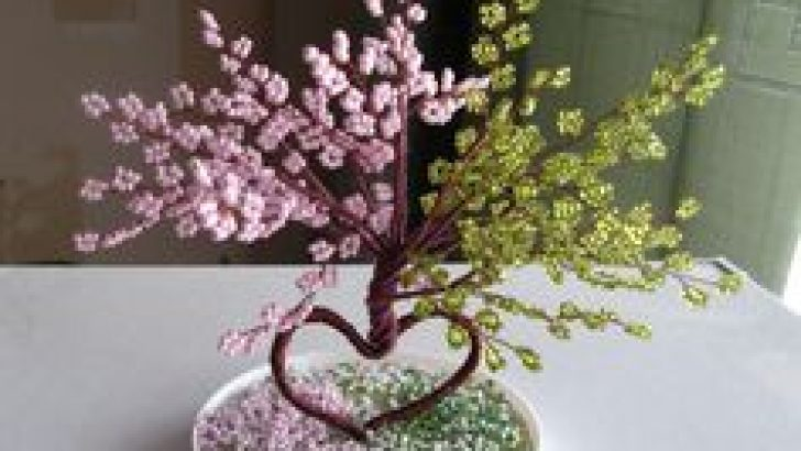 How To Make Gemstone Wire Trees