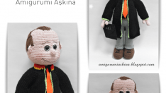 Amigurumi Free Pattern Lawyer Doll
