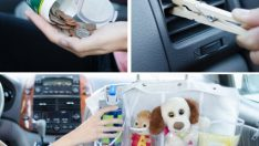 11 Amazing Hacks to Keep Your Car Clean and Organized
