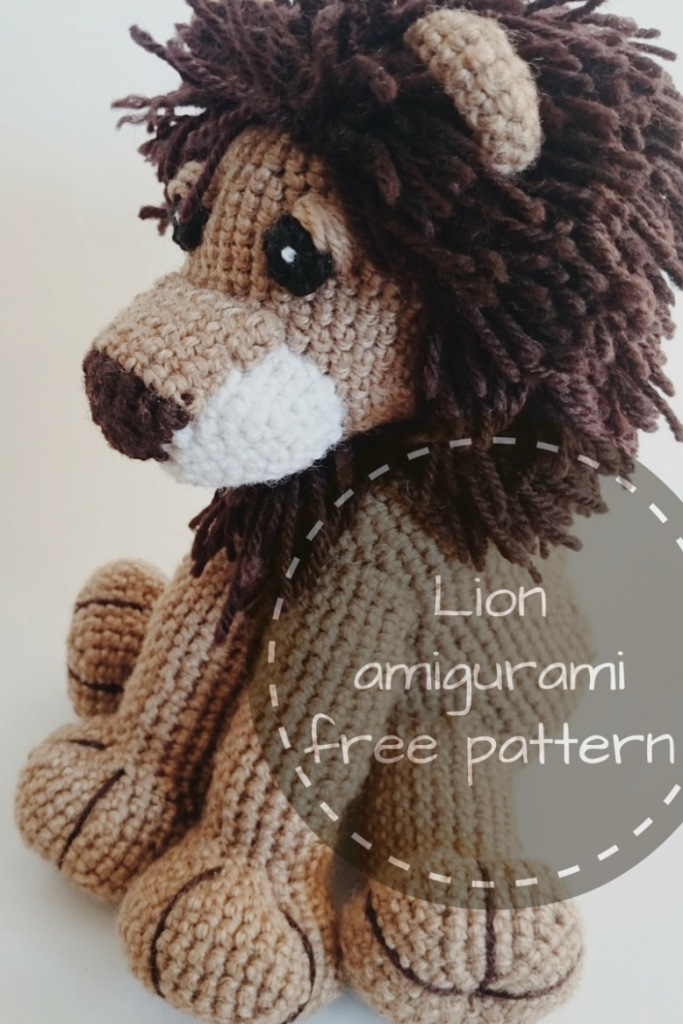 Amigurumi Lion Free Pattern - Knitting, Crochet, Diy ...