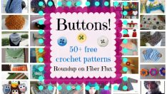 Buttons! 50+ Free Crochet Patterns