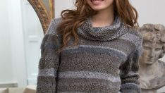 Cowl Neck Sweater patterns