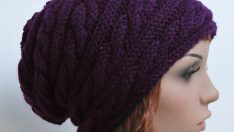 Knitting hats woman models of 2016