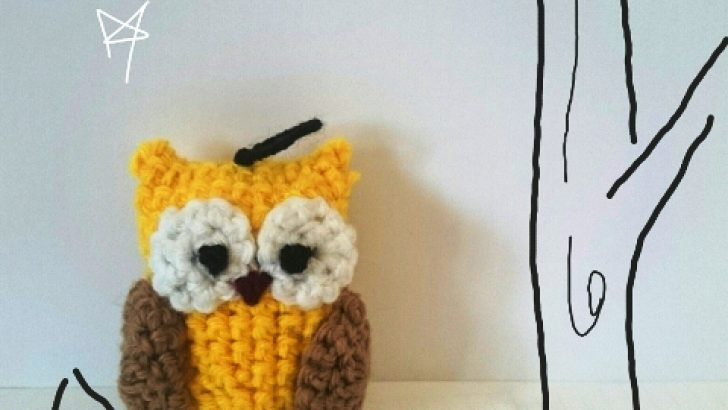 Owl Key Chain Pattern