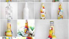 Painting On Bottles DIY