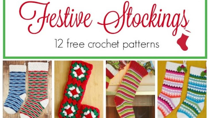 12 Beautiful Crochet Stockings