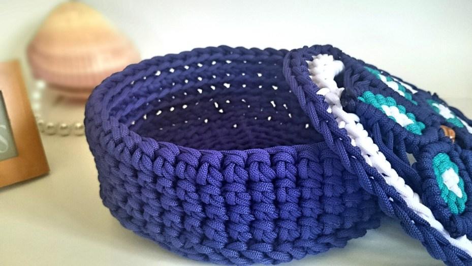 Crochet Macrame Chest Using Paracord Knittting Crochet