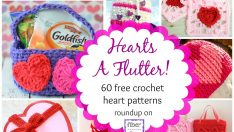 Hearts A Flutter! 60 Crochet Heart Projects