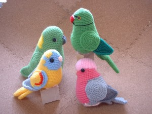 Amigurumi Birds Pattern - Knitting, Crochet, Diy, Craft ...