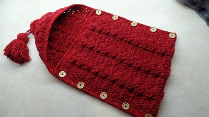 Crochet baby bunting video