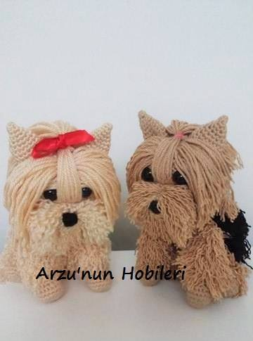 Amigurumi Yorkie Tutorial Pattern - Knitting, Crochet, Diy ...