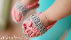 Baby Flip Flops Crochet Pattern Videos