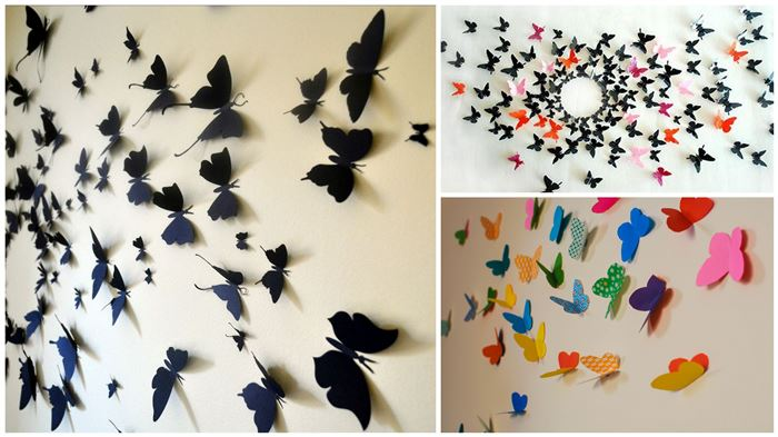 diy butterfly wall decor facebook google pinterest tumblr stumbleupon reddit linkedin vk mailru share