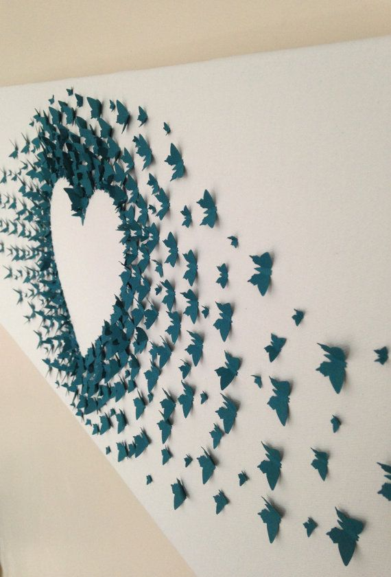 DIY Butterfly Wall Decor (6)