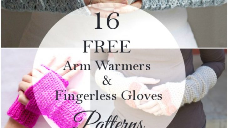 16 Pretty Crochet Arm Warmers and Fingerless Gloves