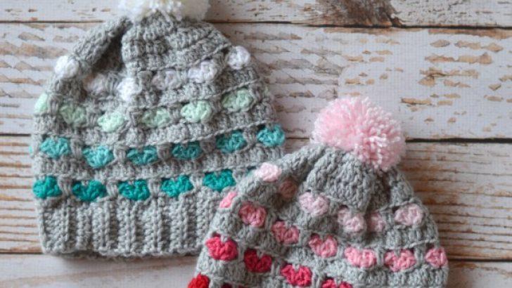 Free Crochet Pattern Toddler Puppy Love Hat
