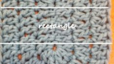 How to Double Crochet an Oval