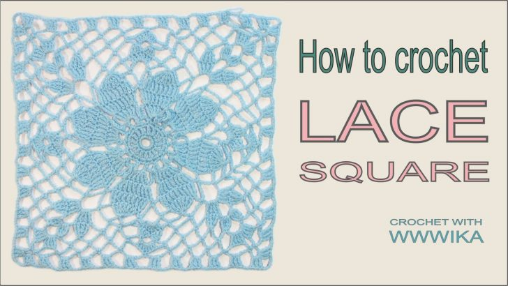 How to crochet Granny Square Lace Top Free pattern Tutorial