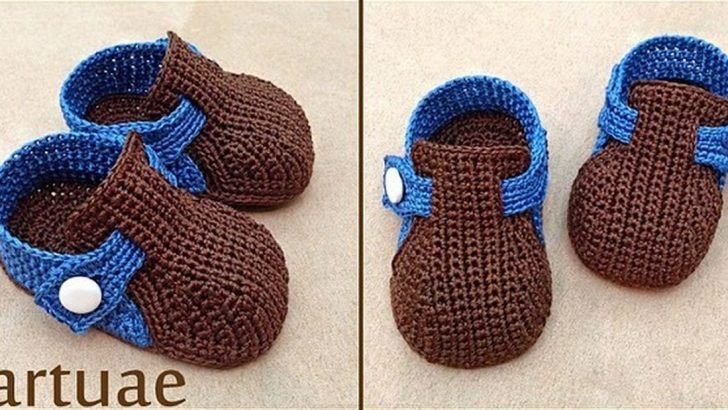 Knitting baby booties pattern