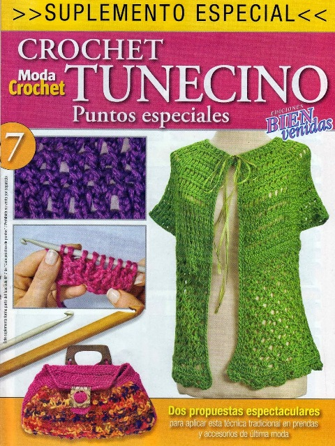 Moda Knitting Books : Tunisian crochet knitting d y craft free