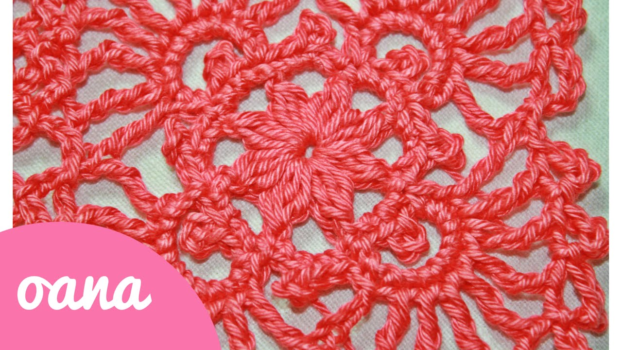 Crochet Lace Square Knittting Crochet