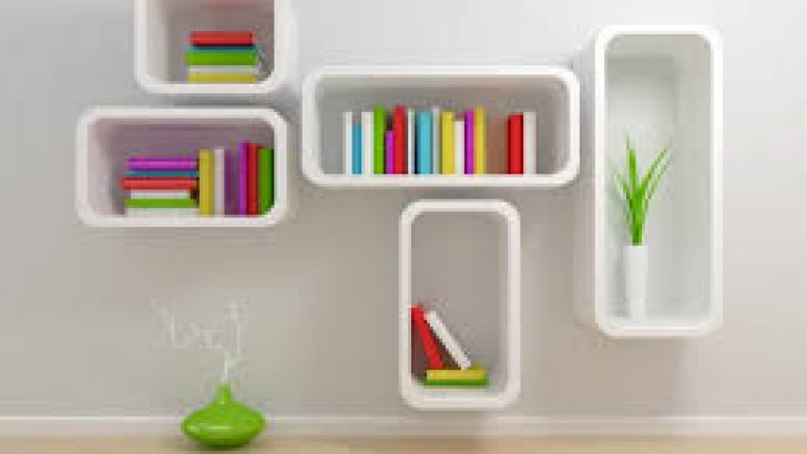 Art To Organize Your Shelves