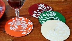 The Designs Are Made From Damaged CDs