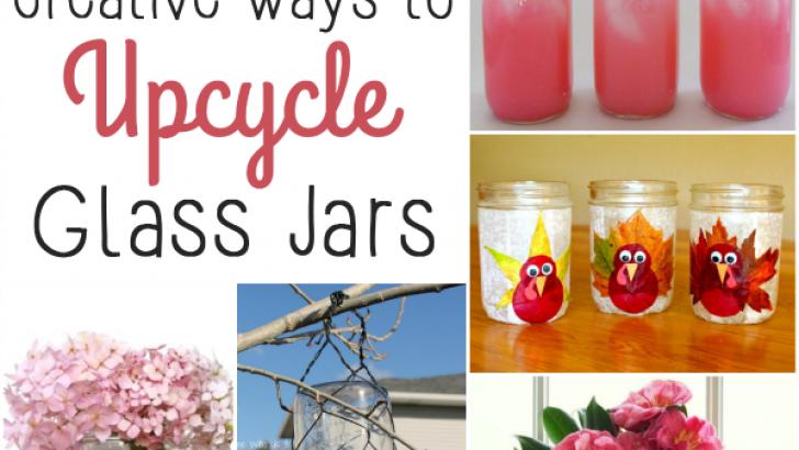 20+ Creative Ways to Upcycle Glass Jars