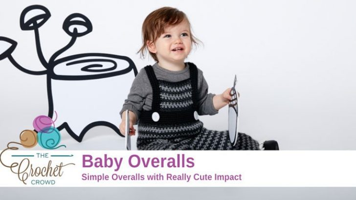 Crochet Baby Overalls + Tutorial Videos