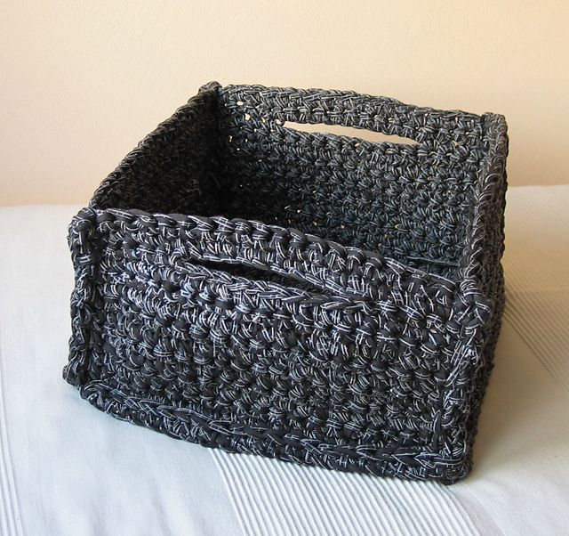 Free Printable Crochet Basket Patterns : Crochet Bread Basket Pattern (19) - Knitting, Crochet, D?y ...