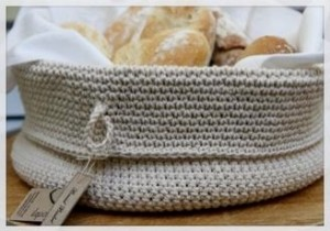 Crochet Bread Basket Pattern - Knitting, Crochet, D?y ...