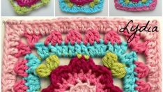 Crochet Squares free pattern video
