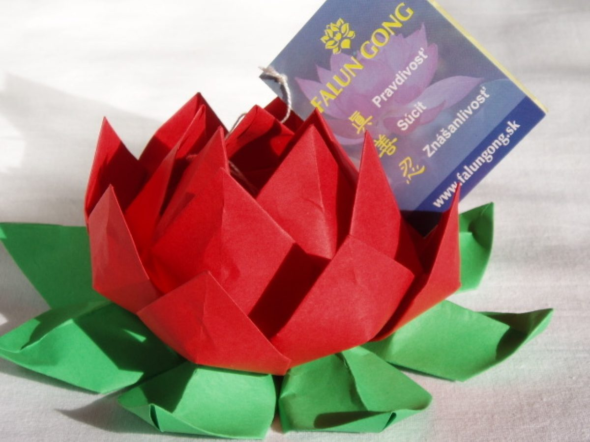 How To Make an Origami Lotus Flower - YouTube | 900x1200