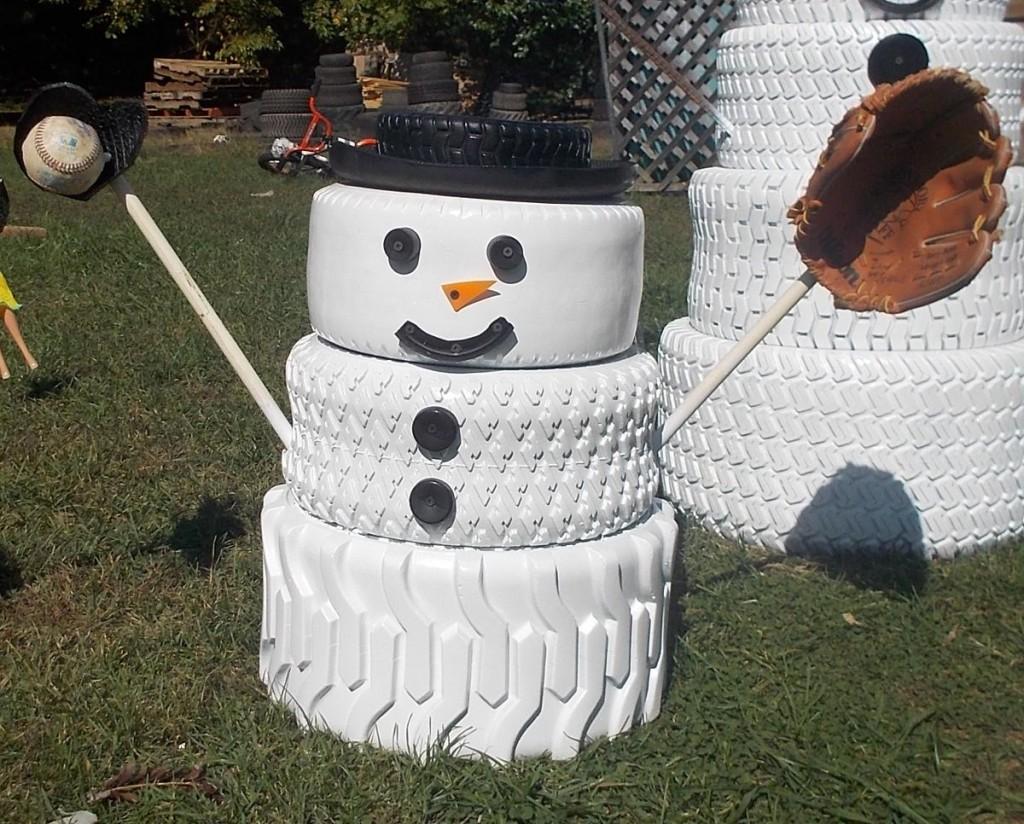 car-tires-snowman