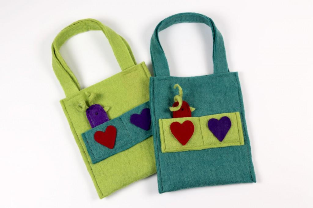 decoration-felt-bag
