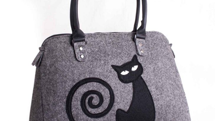 You Can Make Bags from Felt