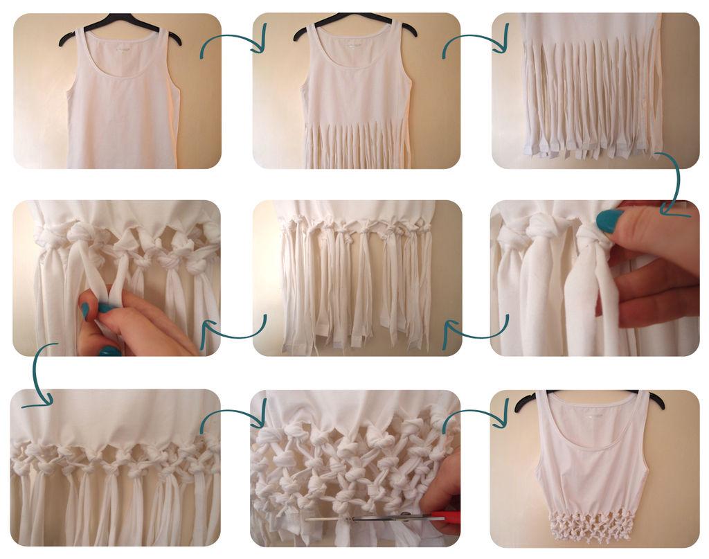 Как из старых вещей сделать модную вещь