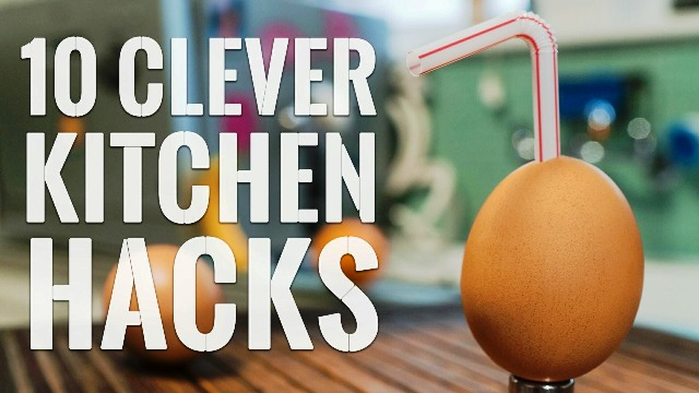 10 Clever Kitchen HACKS To Try Right Now