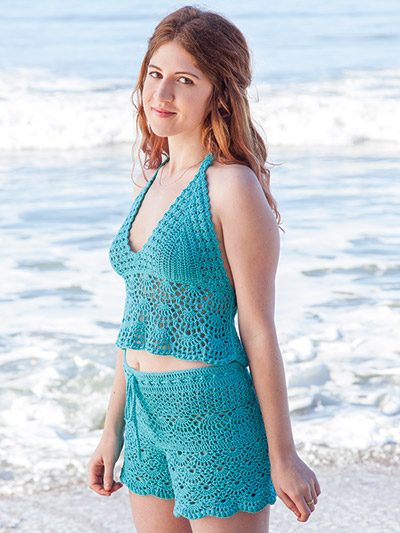 Aquarelle Swimsuit Crochet Pattern