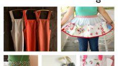 7 Free DIY Apron Sewing Patterns
