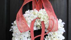 Hydrangea Wreath – Spring Wreath for Summer Wreath – Wreath for Door Door Wreath – Wreaths – Grapevine Wreath