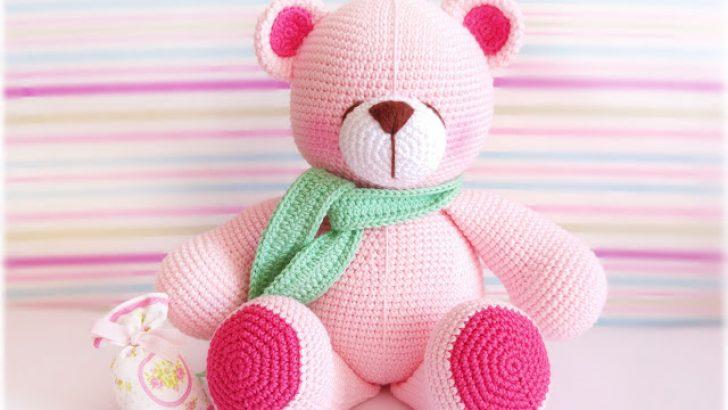 Amigurumi Pink Bear