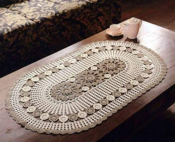 Crochet Free Pattern Table Runner : Free Crochet Table Runner Patterns (140) - Knitting ...