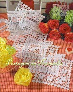 Free Crochet Table Runner Patterns (38) - Knitting ...