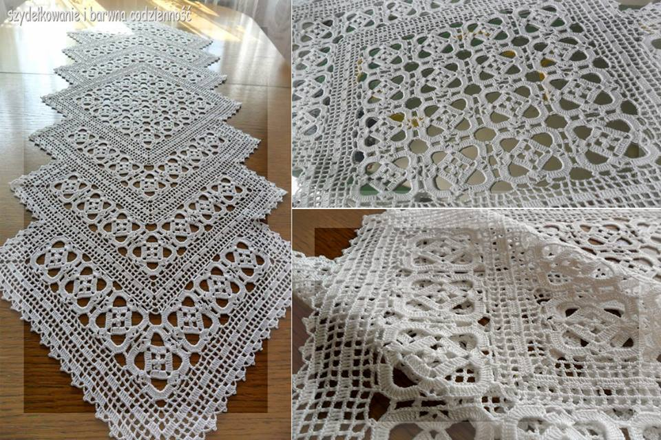 Crochet Free Pattern Table Runner : Free Crochet Table Runner Patterns (76) - Knitting ...