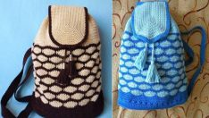 Handmade Kids Bags Knitting