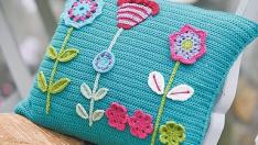 Ideias Almofadas – Crochê&Tricô