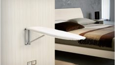 Easy Ironing Board Organizer Depiction