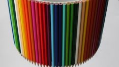 Lampshade Made of Pencil